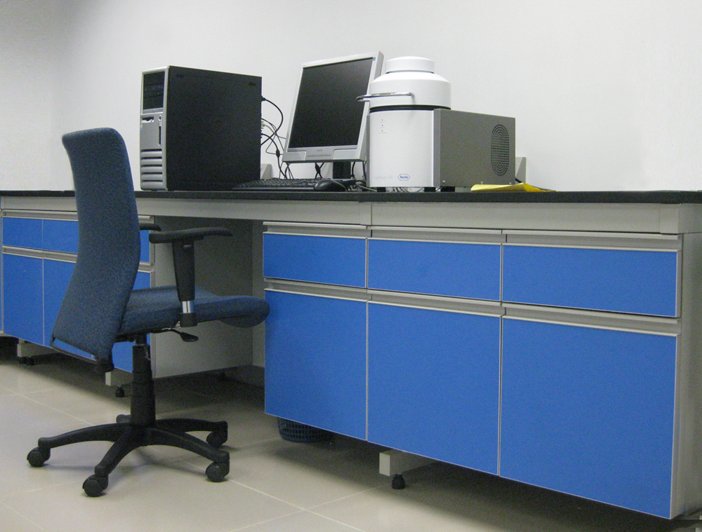 Steel And Wood Lab Bench